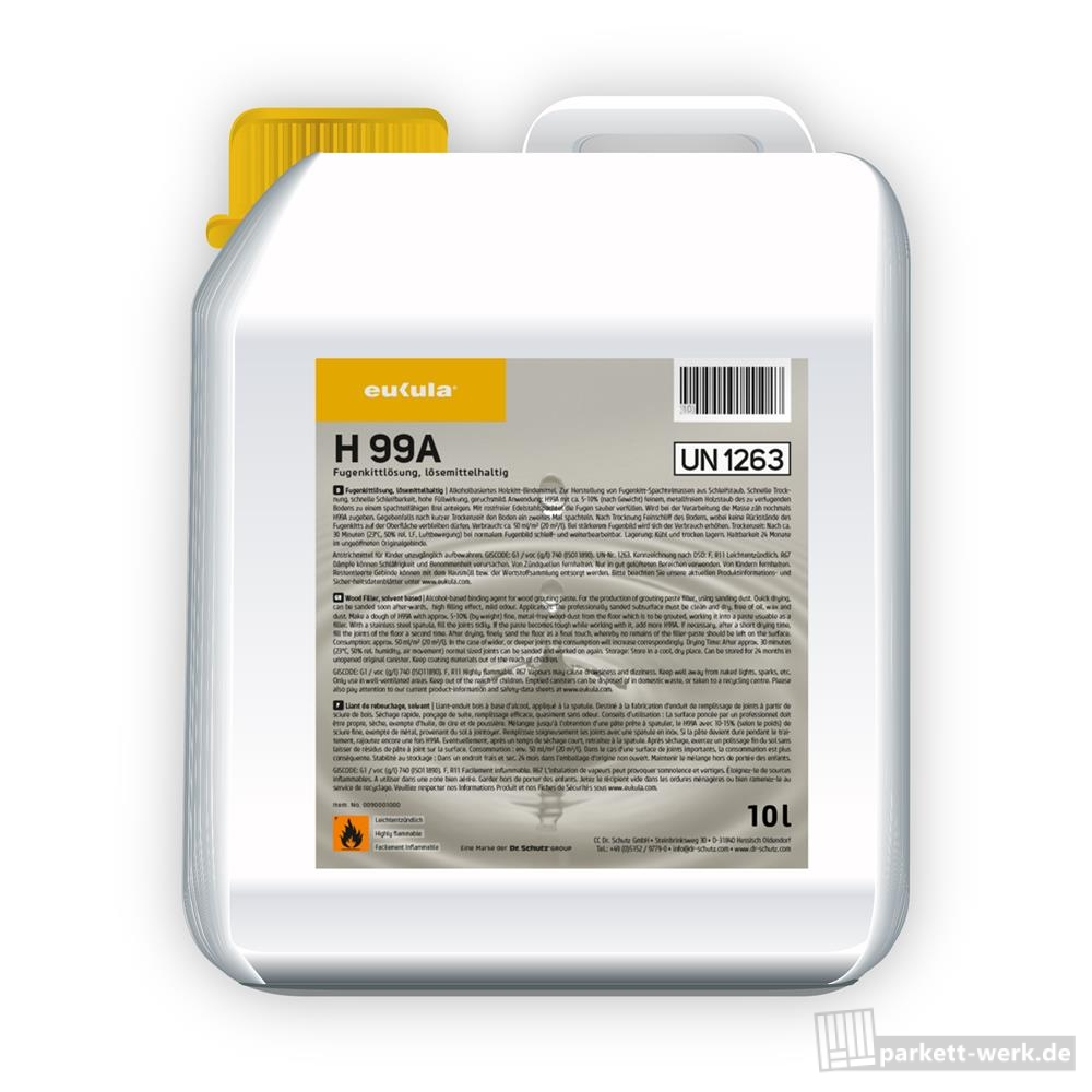 H99A Solvent Wood Filler