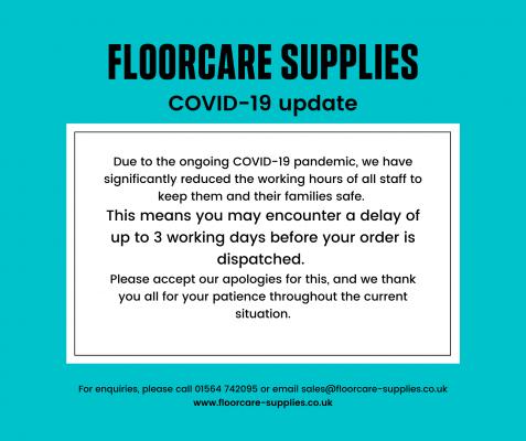COVID-19 delays
